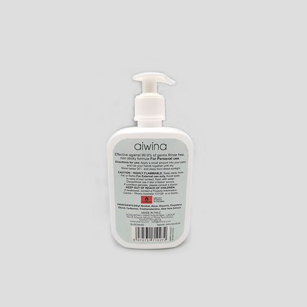 AIWINA 500ML 70% Alcohol Hand Sanitizer Gel